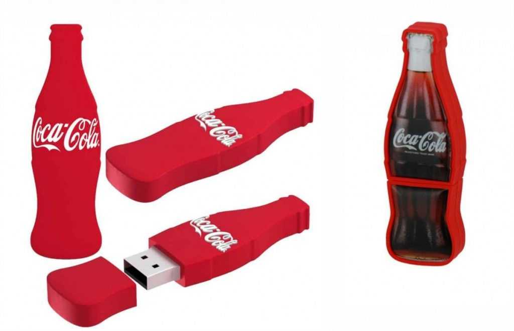 Pendrives USB con formas y doming logo