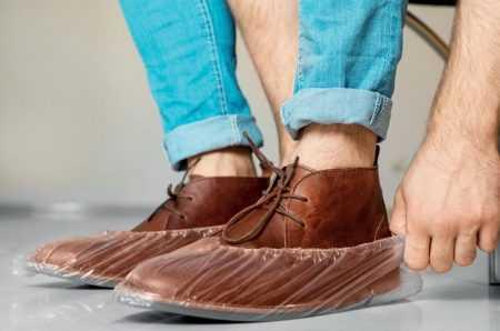 Bolsa de 100 calzas cubrezapatos desechables