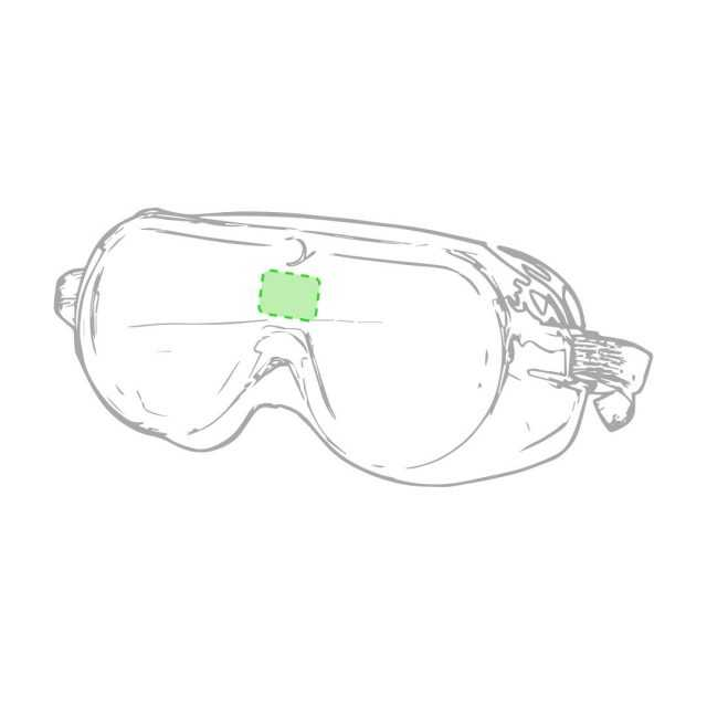 Área marcaje gafas montura integral