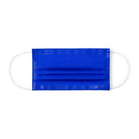 Mascarilla higiénica barata azul