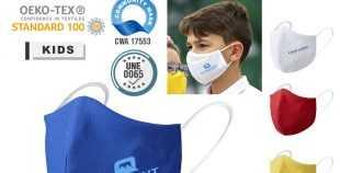 Mascarilla higiénica para niños personalizada