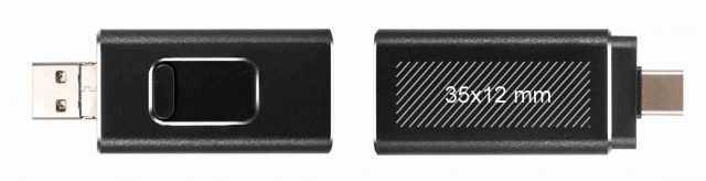 Área de marcaje disponible para pendrive USB 4 en 1