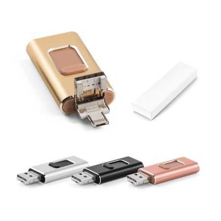 Memoria USB 4 en 1