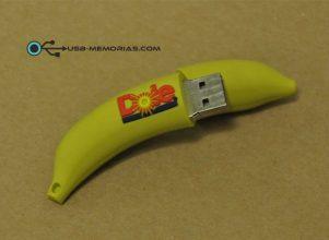 Pendrive USB forma 3D platano