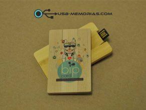 Pendrive USB tarjeta todo color